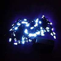 Гирлянда Нить Конус-рис LED 100 белый, чёрный провод (1-17), фото 1