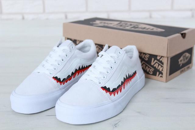 Vans Old Skool Shark White