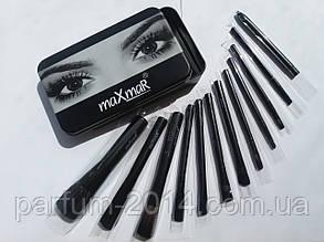 Профессиональный набор кистей для макияжа MaxMar MB-211
