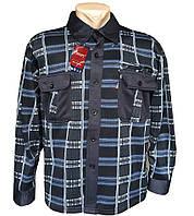 Рубашки мужские с длинным рукавом БАЙКА, микс (р.р. XL-5XL), 5 шт.