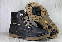 Підліткові високі черевики для хлопців натуральна шкіра та хутро Konors