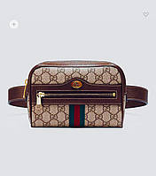 Сумка Gucci Ophidia GG Supreme mini bag на пояс копия