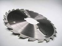 Пильный диск с подрезными ножами D 350 d 70 z 20+4 Vatzo.