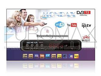 Цифровой эфирный приемник T2 MONDAX DV3-T9 IPTV/YouTube/WiFi/MP4 T2-THD-272