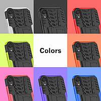 PC + TPU чехол Armor для  Apple iPhone XR (8 цветов)
