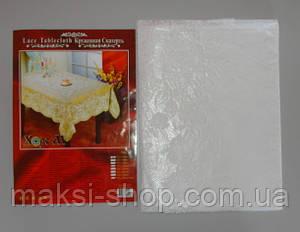 Скатерть кружевная полимерная размер 110х140 см