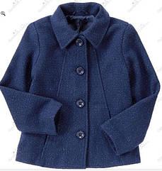 Стильное пальто с люрексовой нитью и шерстью (Размер 7-8Т)  Crazy8 (США)