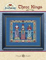 Комплект Mill Hill Beads Embellishment Pack Three Kings by Jim Shore
