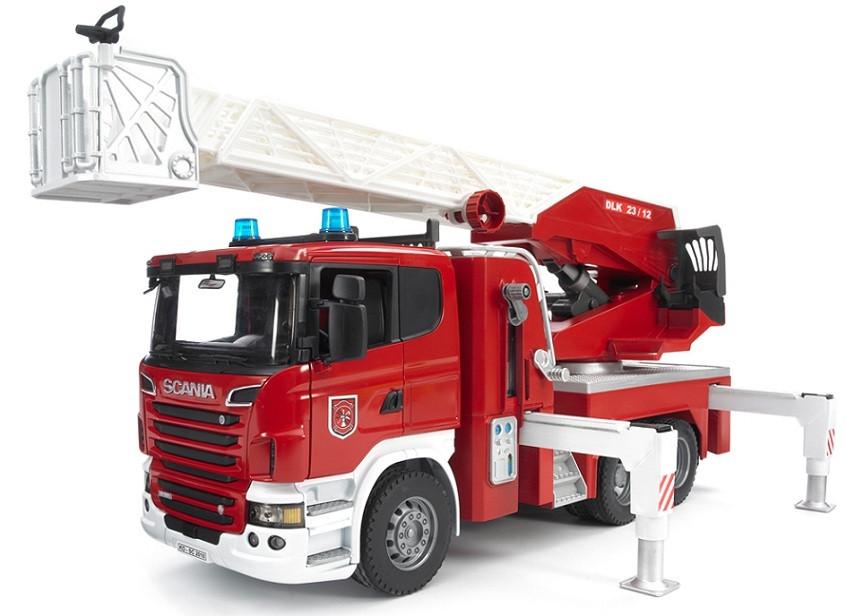 Пожарная машина Scania R Bruder 03590