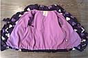 Стильная куртка сердечки утепленная флисом на весну-осень (Размер 4-5Т)  Crazy8 (США), фото 3