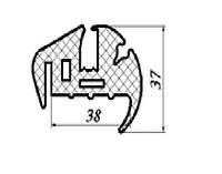 Уплотнитель лобового стекла на УК кабину трактора МТЗ 80-6700018 или А37.08.043-01