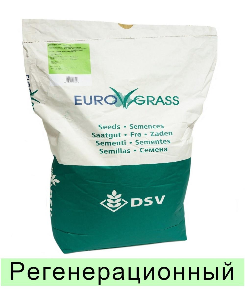 Газонная трава EuroGrass Renovation - 10 кг (регенерационный)