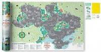 Скретч карта світу Travel Map Моя Рідна Україна ( укр.) (тубус )