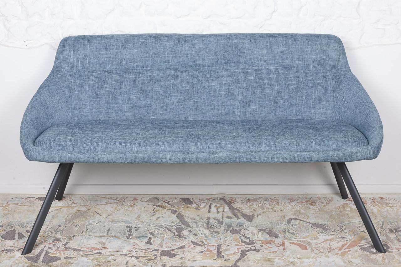 Кресло - банкетка TOLEDO (Толедо) рогожка темно - голубой от Niсolas