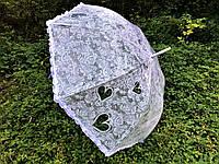 Хит! Необычный свадебный Зонт-трость для Невесты, Прозрачный