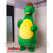 Надувной Костюм ( Пневмокостюм, Пневморобот )  Крокодил