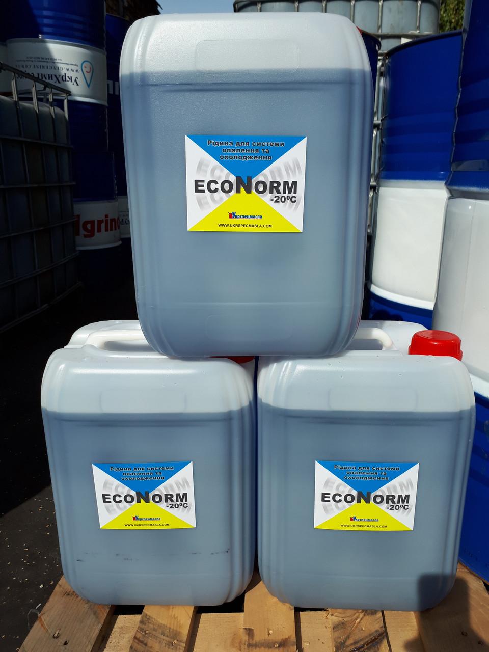 Теплоноситель для систем отопления Econorm -20C, бытовой антифриз Эконорм