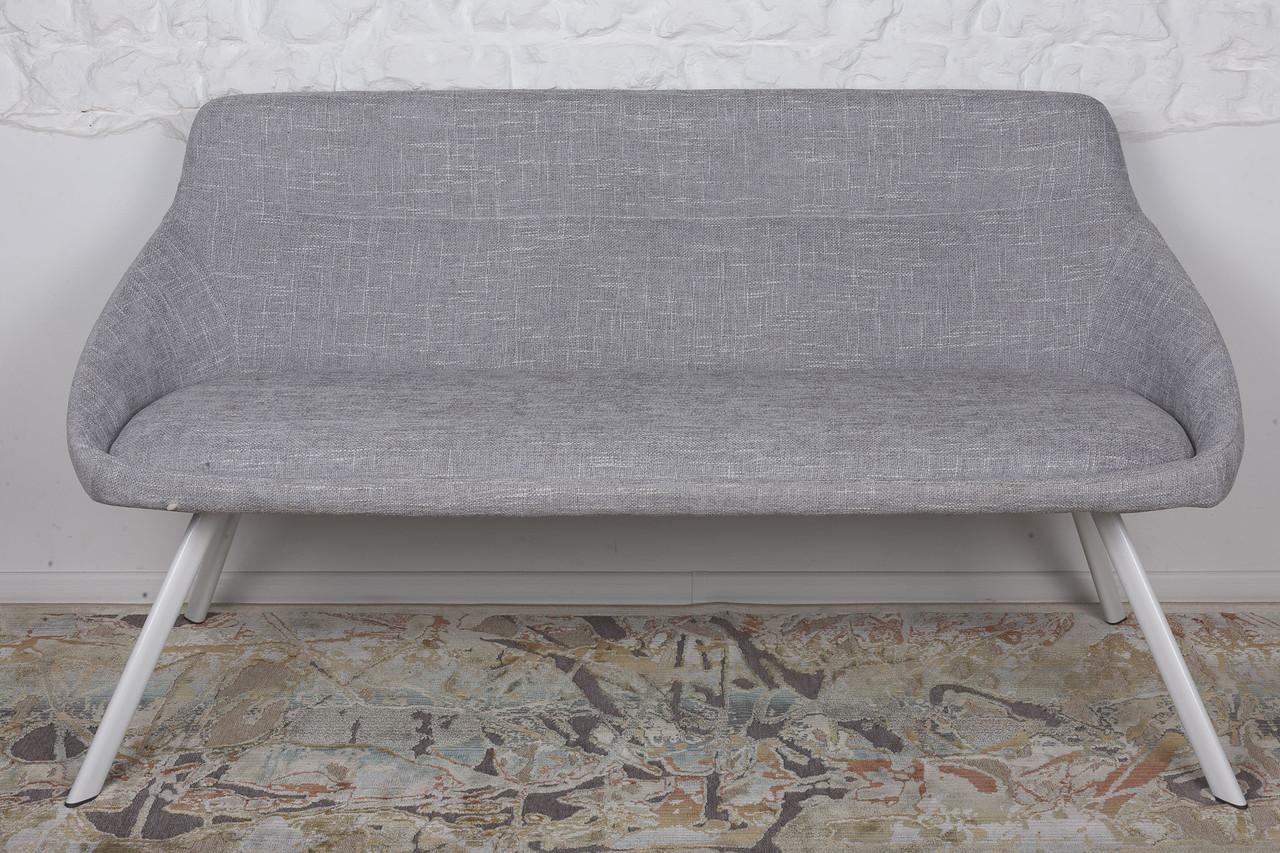 Кресло - банкетка  TOLEDO (Толедо) рогожка светло - серый от Niсolas