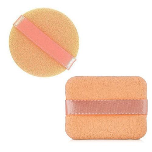 Набор спонжей для макияжа круг и квадрат (2шт) QS-112