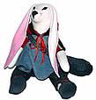 Зайчик мальчик, интерьерная тряпичная кукла, 43 см, фото 3