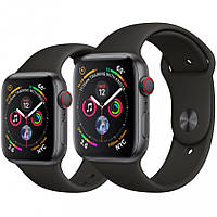 Apple Watch Series 4 40mm Space Gray Aluminum Case with Black Sport Band (MU662)
