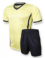 Футбольна форма для команд Europaw club жовто-чорна, фото 1