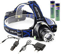 Налобный фонарь Cree XM-L T6 Zoom