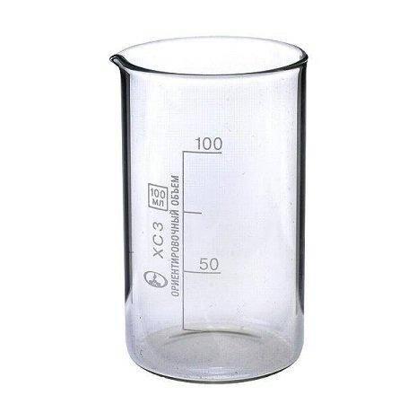 Стакан мірний з носиком 100 мл, скло, фото 2