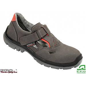 Защитные сандали BPPOS551 SBP женские, с стальным носком,верх из кожи, темно-синего цвета. PPO