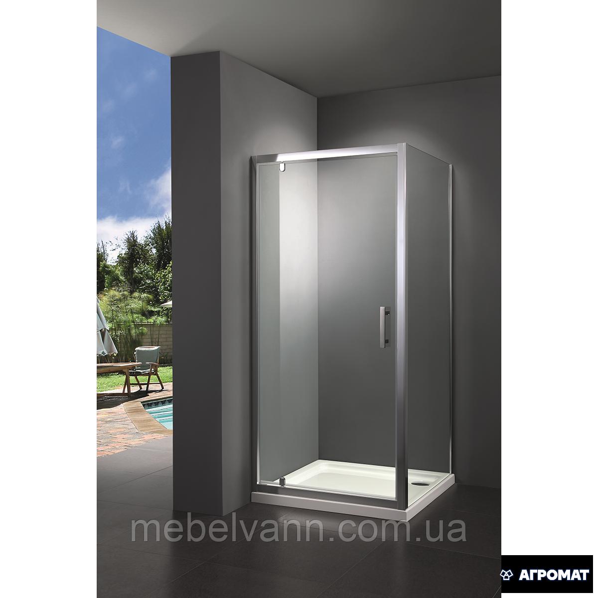 Душевая дверь PRIMERA Frame SHRP56106,матовое рефленное
