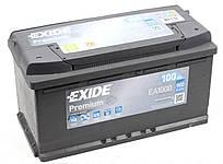 Аккумуляторная батарея 100Ah/900A (353x175x190/+R) Premium Exide