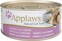 Влажные консервы Applaws для котов c Скумбрией и Сардинками, 70 г