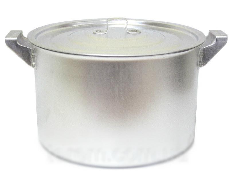 Каструля алюмінієва циліндрична 8л Китай-алюміній