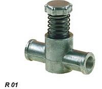 R01 Дозатор газа 16×16 алюминиевый