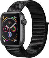 Apple Watch Series 4 40mm Space Gray Aluminum Case with Black Sport Loop (MU672)