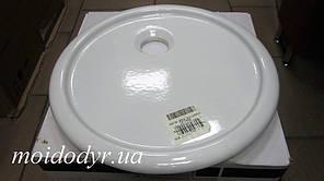 Умивальник керамічний врізний круглий 460 мм