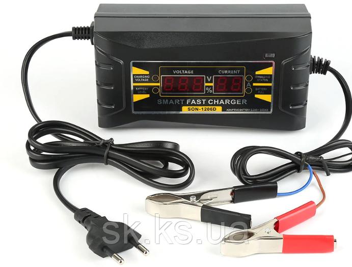 Полный автомат универсальное зарядное устройство для автомобиля sertec