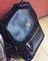 Большой рюкзак дольче габбана в натуральной коже , рюкзаки Dolce and Gabbana