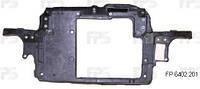 Передняя панель Skoda Fabia 99-07, авто без кондиционера, под малый радиатор (FPS)