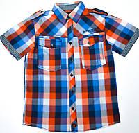Рубашка для мальчика подростка 131-30B-18-357 Клетка
