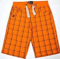 Шорты для мальчика-подростка 131-13B-50-356 Оранжевые