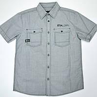Рубашка для мальчика подростка 131-30B-17-127 Серая