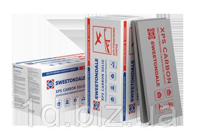 Экструдированный пенополистирол XPS CARBON SOLID  500  1180х580х100 (0,273760 м3/4 плиты)