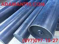 Капролон (полиамид), стержень графитонаполненный, d 40 мм - 1000 мм.