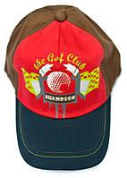Бейсболка Klub Golfa Красная