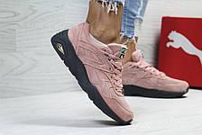 Женские кроссовки Puma Trinomic,розовые, фото 2