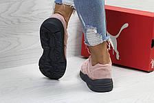Женские кроссовки Puma Trinomic,розовые, фото 3