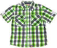 Рубашка для мальчика  Morskie Wyzwanie Клетка 116
