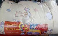 Красивое детское теплое одеяло на овчине, фото 1