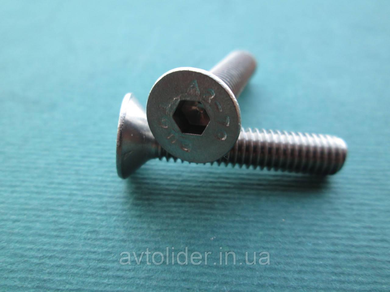 DIN 7991 (ISO 10642) : нержавеющий винт с потайной головкой и внутренним шестигранником